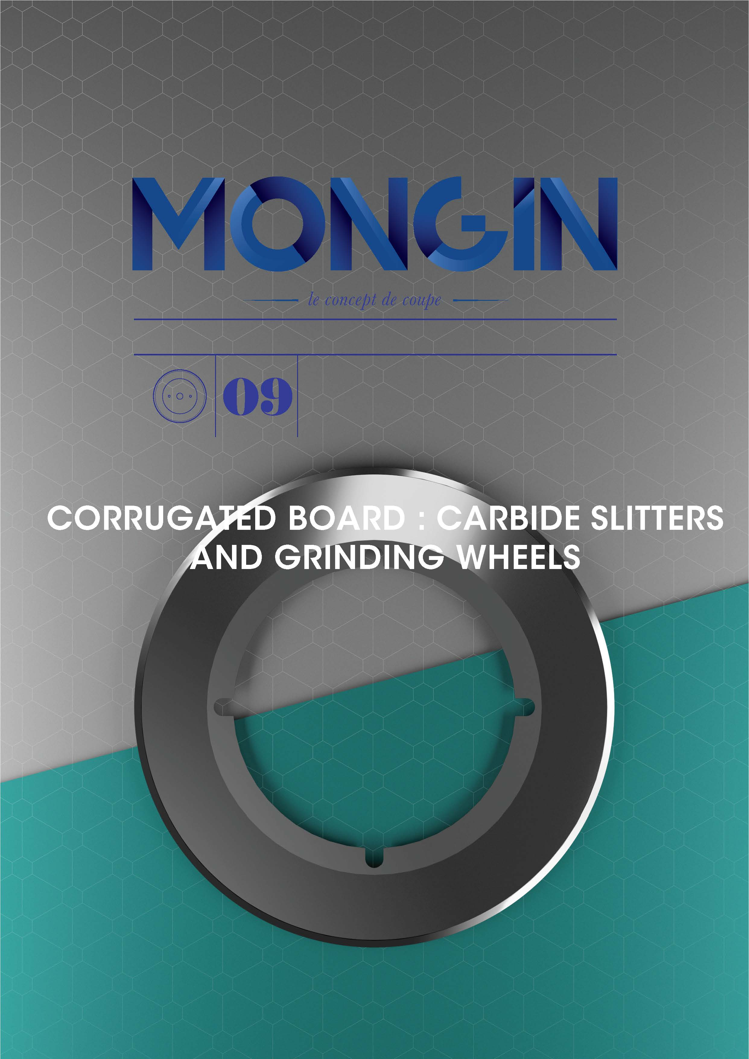SLITTERS IN CARBIDE, GRINDING WHEELS, CORRUGATED BOARD
